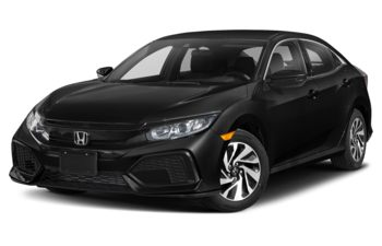 2020 Honda Civic Hatchback - Crystal Black Pearl