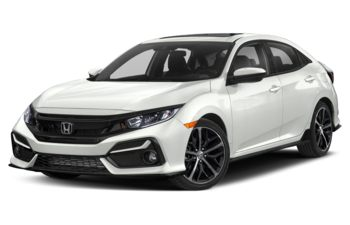 2020 Honda Civic Hatchback - Platinum White Pearl