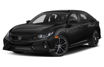 2021 Honda Civic Hatchback - Crystal Black Pearl
