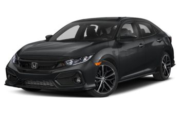 2021 Honda Civic Hatchback - Polished Metal Metallic