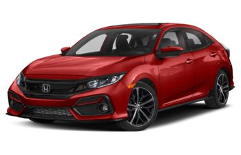 2020 Honda Civic Hatchback - Rallye Red