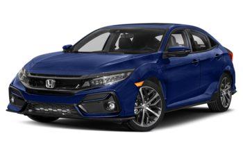 2021 Honda Civic Hatchback - Aegean Blue Metallic