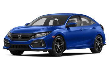 2020 Honda Civic Hatchback - Aegean Blue Metallic