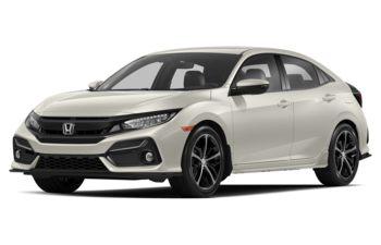 2020 Honda Civic Hatchback - Platinum White Pearl