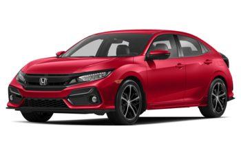 2020 Honda Civic Hatchback - Rallye Red
