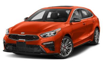 2021 Kia Forte5 - Orange Delight