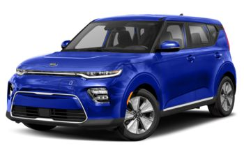 2021 Kia Soul EV - Neptune Blue