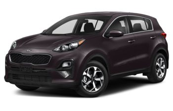 2021 Kia Sportage - Black Cherry