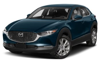 2021 Mazda CX-30 - Deep Crystal Blue Mica