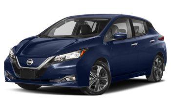 2021 Nissan LEAF - Deep Blue Pearl