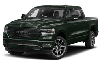 2019 RAM 1500 - Black Forest Green Pearl