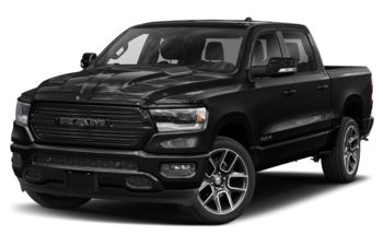 2019 RAM 1500 - Diamond Black Crystal Pearl