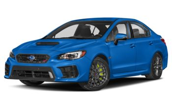 2021 Subaru WRX STI - World Rally Blue Pearl