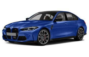 2021 BMW M3 - Portimao Blue Metallic