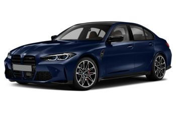 2021 BMW M3 - Tanzanite Blue Metallic