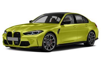 2021 BMW M3 - Sao Paulo Yellow