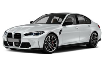 2021 BMW M3 - Frozen Brilliant White Metallic