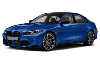 2021 BMW M3 - Frozen Portimao Blue Metallic