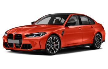 2021 BMW M3 - Frozen Orange