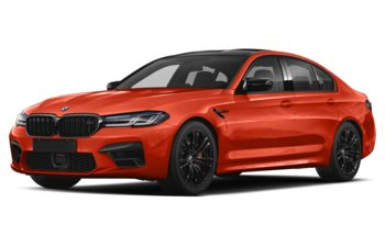2021 BMW M5 - Motegi Red Metallic