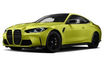 2021 BMW M4 - Sao Paulo Yellow
