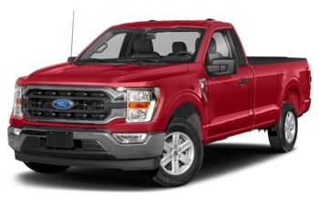 2021 Ford F-150 - Vermillion Red