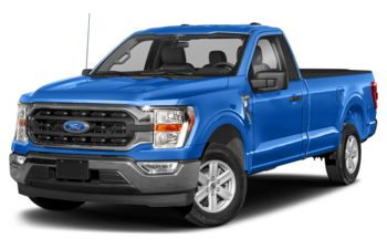 2021 Ford F-150 - Velocity Blue Metallic