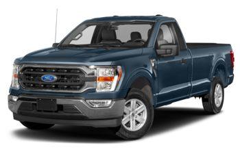 2021 Ford F-150 - Antimatter Blue Metallic