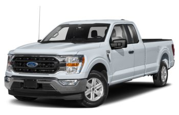 2021 Ford F-150 - Space White Metallic
