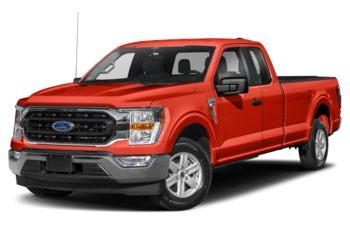 2021 Ford F-150 - Orange