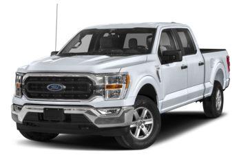 2021 Ford F-150 - Space White Metallic