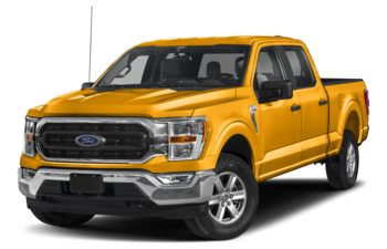 2021 Ford F-150 - School Bus Yellow