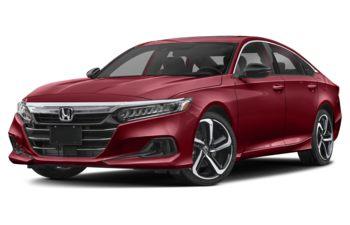2021 Honda Accord - San Marino Red