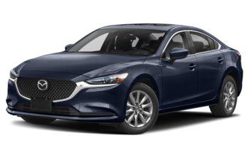 2021 Mazda 6 - Deep Crystal Blue Mica