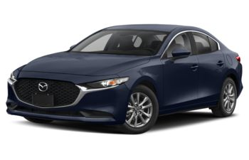 2021 Mazda 3 - Deep Crystal Blue Mica