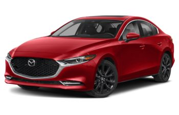 2021 Mazda 3 - Soul Red Crystal Metallic