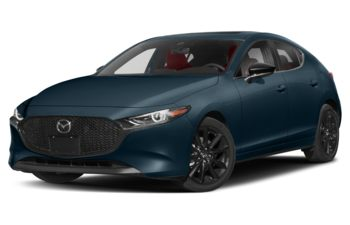 2021 Mazda 3 Sport - Deep Crystal Blue Mica