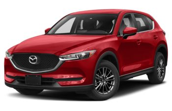 2021 Mazda CX-5 - Soul Red Crystal Metallic