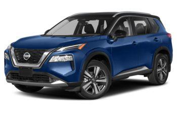2021 Nissan Rogue - Caspian Blue 2-Tone Metallic