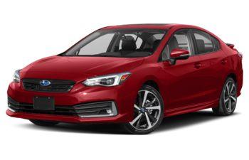 2021 Subaru Impreza - Lithium Red Pearl