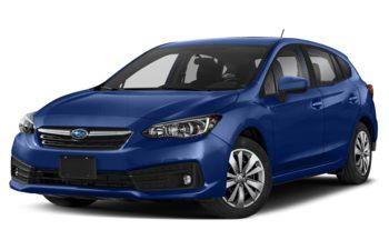 2022 Subaru Impreza Hatchback - Sapphire Blue Pearl