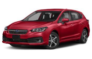 2021 Subaru Impreza - Crimson Red Pearl