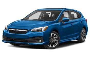 2021 Subaru Impreza - Ocean Blue Pearl