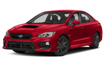 2021 Subaru WRX - Pure Red
