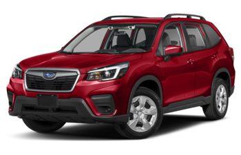 2020 Subaru Forester - Crimson Red Pearl