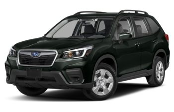 2021 Subaru Forester - Crystal Black Silica