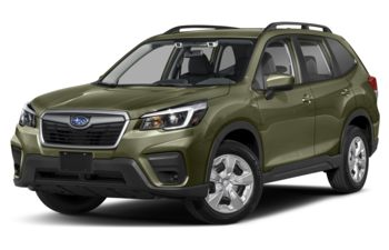 2020 Subaru Forester - Jasper Green Metallic