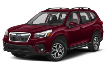 2021 Subaru Forester - Crimson Red Pearl
