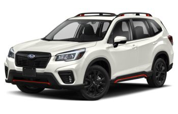 2021 Subaru Forester - Crystal White Pearl