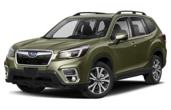 2021 Subaru Forester - Jasper Green Metallic